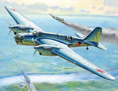 Zvezda Soviet Bomber SB2 (6185)