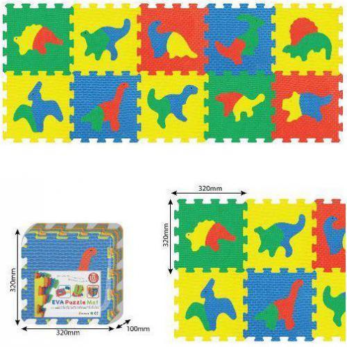 Smily Play Mata piankowa, dinozaury 64x160cm - 1021B3