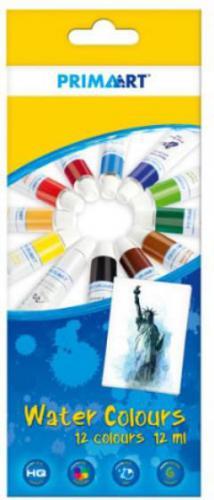 Starpak Farby akwarelowe 12 kolorów 12ml w tubie - 322827