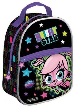 Starpak Plecak mini Littles Pet Shop III czarno-wielokolorowy (348715)