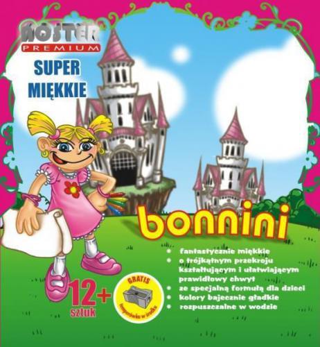 Noster Kredki 12 bonnini - KRE62
