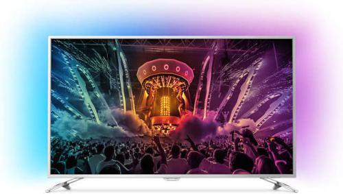 Telewizor Philips 55PUS6561 4K, Netflix, Android, AMBILIGHT 3, QWERTY + KOD RABATOWY