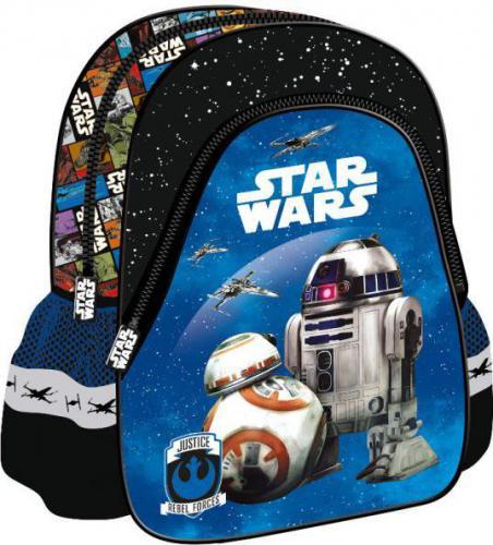 xxxxxxxxx Plecak szkolno-wycieczkowy Star Wars Epizod VII niebieski