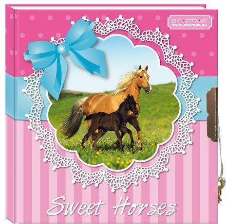 Starpak Pamiętnik zamykany Horses - 291245