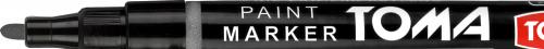 Toma Marker olejowy Fine srebrny (TO-441)