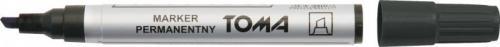 Toma permanentny ścięty czarny p10 (TO-091)