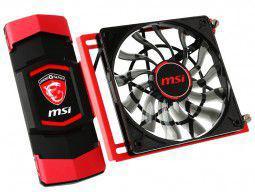 MSI Gaming SLI-Mostek (4-Way) 40+40+40 mm - 914-4395-003