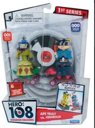 Tm Toys HERO 108 2 figurki z kartami   - HRO 23000