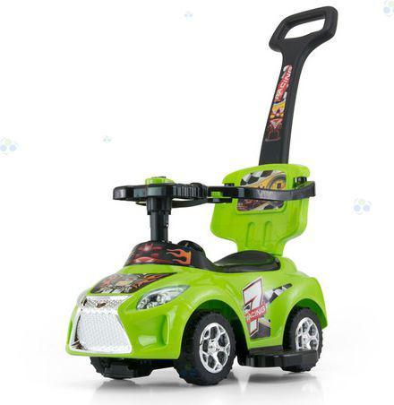 Milly Mally Jeździk Kid 3w1 zielony - 0455