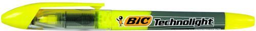 Bic Zakreślacz Technolight żółty