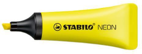 Corex Zakreślacz STABILO NEON żółty - 72/24 COREX