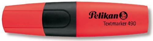 Herlitz Zakreślacz Pelikan 490 czerwony - 0000940429