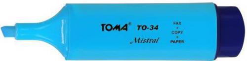 Toma Zakreślacz Mistral niebieski - TO-334 12