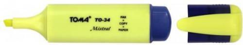 Toma Zakreślacz Mistral 4 kolory (TO-334 904)
