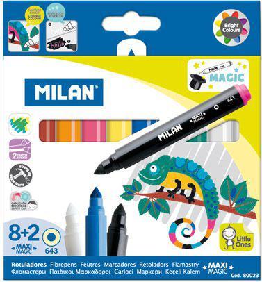 Milan Flamastry 8+2 Maxi - 80023