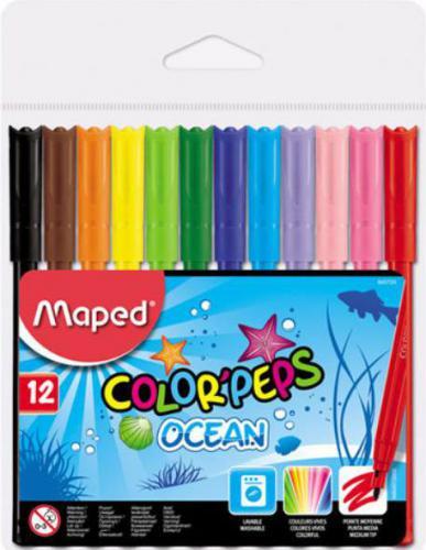 COREX Flamastry 12kol Color'peps Ocean (845720 COREX)