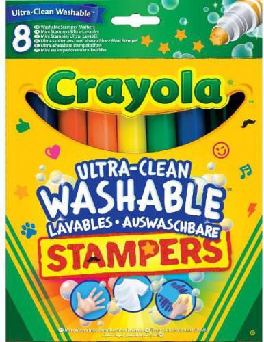 Crayola Markery stempelki super spieralne (58-8129)
