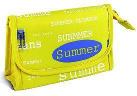 Donegal KOSMETYCZKA Summer żółta mała 4885