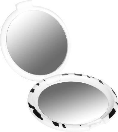 Lusterko kosmetyczne Donegal kompaktowe ZEBRA (4502)