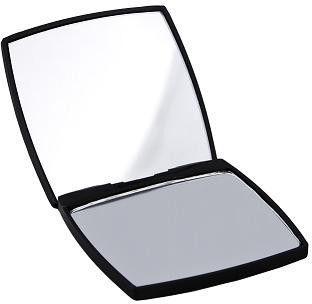 Lusterko kosmetyczne Donegal kompaktowe kwadratowe Black Chic 7  (4524)