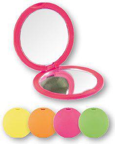 Lusterko kosmetyczne TOP CHOICE Colours kompaktowe okrągłe (85543)
