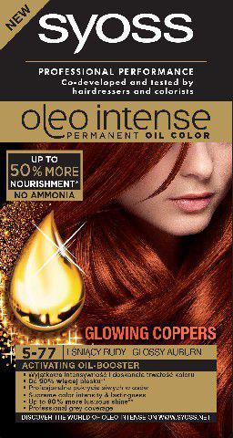 Syoss Farba do włosów Oleo 5-77 lśniący rudy