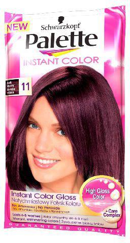 Palette Instant Color Szamponetka koloryzująca Ciemna Wiśnia nr 11 25 ml