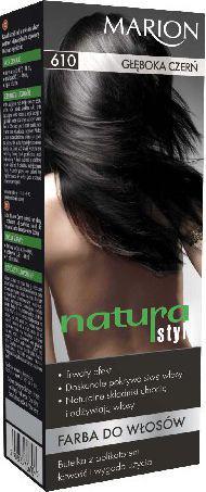 Marion Farba do włosów Natura Styl nr 610 głęboka czerń - 78610