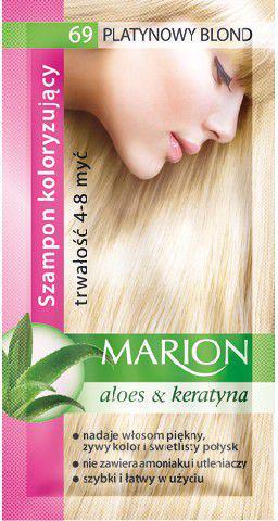Marion Szampon koloryzujący 4-8 myć nr 69 platynowy blond 40 ml
