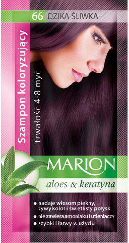Marion Szampon koloryzujący 4-8 myć nr 66 dzika śliwka 40 ml
