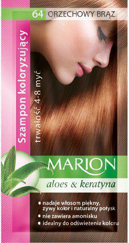 Marion Szampon koloryzujący 4-8 myć nr 64 orzechowy brąz 40 ml