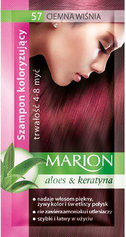 Marion Szampon koloryzujący 4-8 myć nr 57 ciemna wiśnia 40 ml