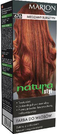 Marion Farba do włosów Natura Styl nr 676 miedziany bursztyn - 78676