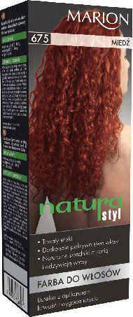 Marion Farba do włosów Natura Styl nr 675 miedź - 78675
