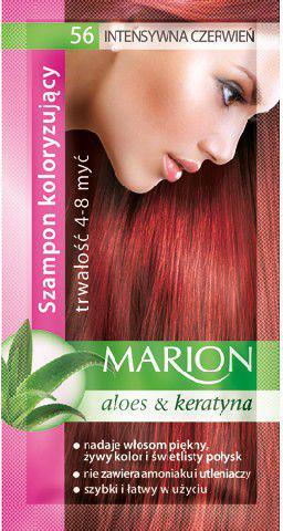 Marion Szampon koloryzujący 4-8 myć nr 56 intensywna czerwień 40 ml