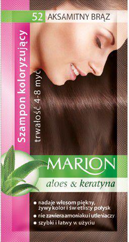 Marion Szampon koloryzujący 4-8 myć nr 52 aksamitny brąz 40 ml