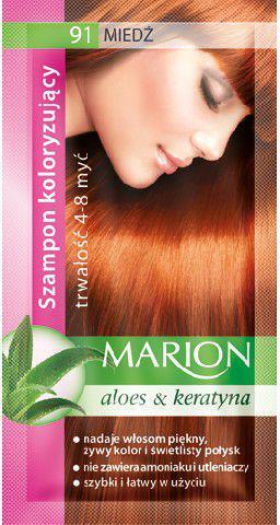 Marion Szampon koloryzujący 4-8 myć nr 91 miedź 40 ml