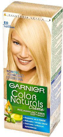 Garnier Color Naturals Krem koloryzujący nr E0 Rozjaśniacz Superblond