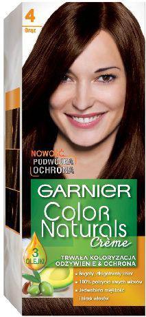 Garnier Garnier Color Naturals Krem koloryzujący nr 4 Brąz 1op - 0305392