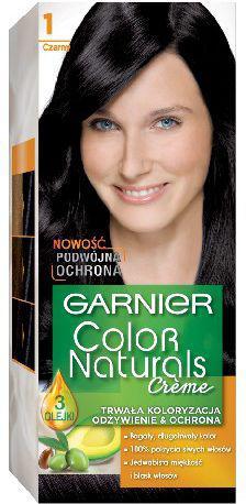 Garnier Color Naturals Krem koloryzujący nr 1 Czarny