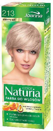 Joanna Naturia Color Farba do włosów nr 213-srebrny pył  150 g