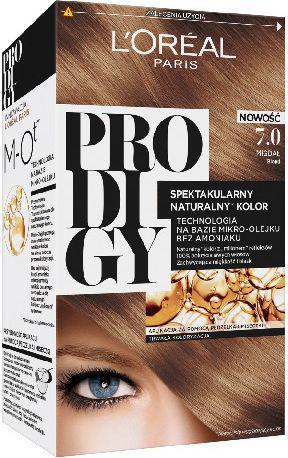 L´Oreal Paris Prodigy 5 Farba do włosów 7.0 Migdał-blond