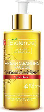 Bielenda Argan Cleansing Face Oil Olejek do mycia twarzy z pro-retinolem  140ml