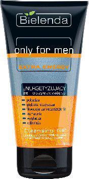 Bielenda only for men EXTRA ENERGY energizujący żel oczyszczający  150ml