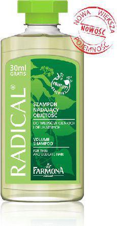 Farmona Radical Szampon do włosów cienkich i delikatnych, nadający objętość 330 ml