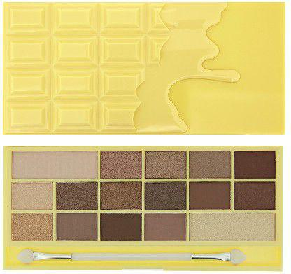 Makeup Revolution I Heart Make Up Palette Zestaw cieni do powiek Naked Chocolate  (16 kolorów) 22g