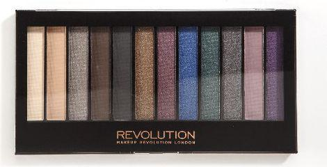 Makeup Revolution Redemption Palette 12 Zestaw cieni do powiek Hot Smoked  14g (12 kolorów)