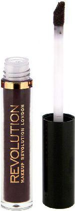 "Makeup Revolution Salvation Velvet Lacquer Błyszczyk do ust ""Black Heart""  15ml"