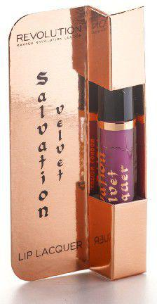 "Makeup Revolution Salvation Velvet Lacquer Błyszczyk do ust ""Keep Lying For You""  15ml"