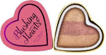 Makeup Revolution Blushing Hearts Róż Peachy Keen Heart  10g